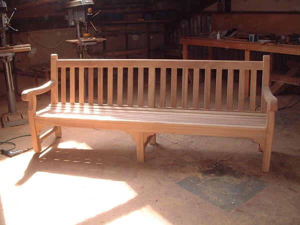 eastbourne-bench-240cm-workshop-view