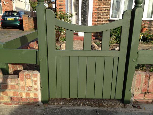 Hardwood Pedestrian Gates