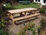 picnic-bench-240cm-side-view