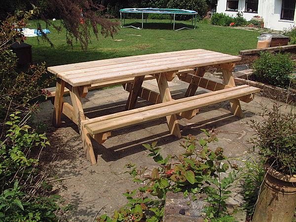 picnic-bench-240cm-side-view