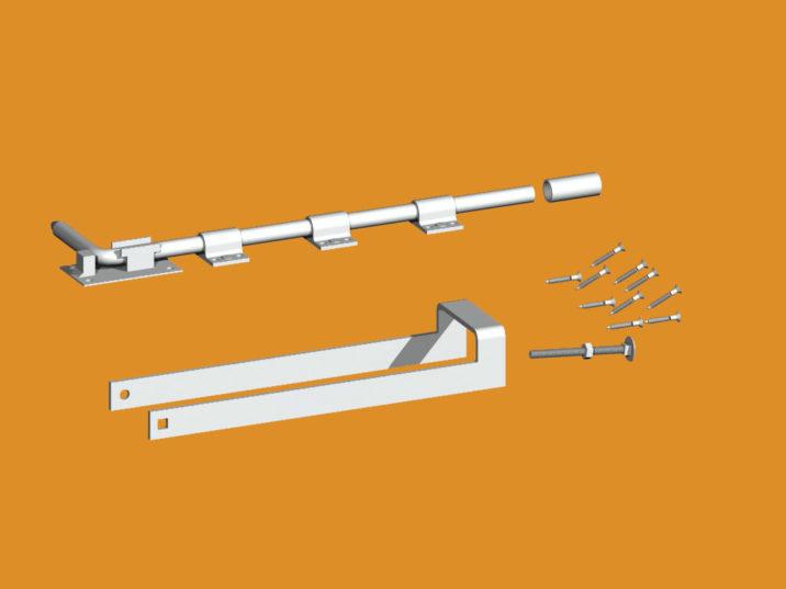 gate-fastener-set