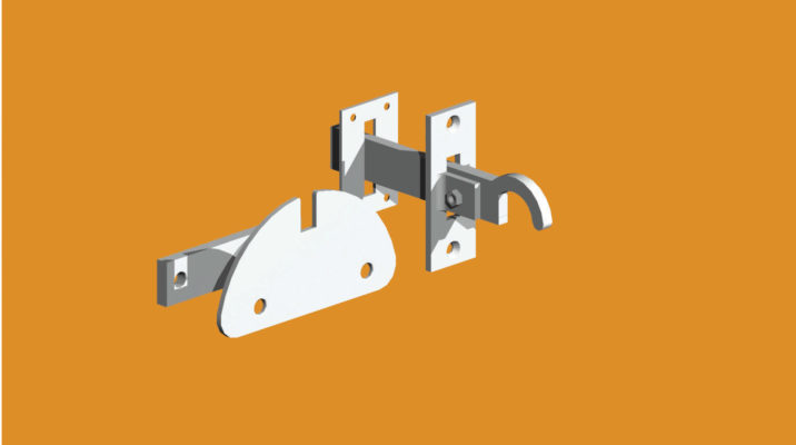 mortice-gate-latch