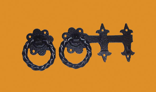 ornamental-twisted-ring-gate-latch