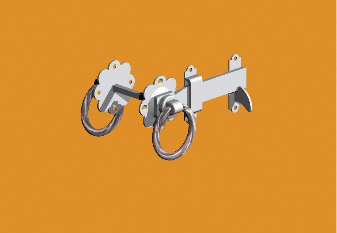 twisted-ring-latch
