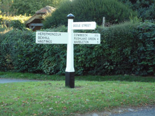 Finger Posts And Waymarkers